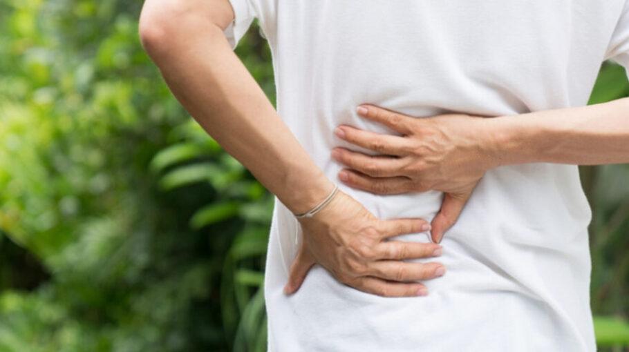 Sufrir una hernia discal en la mediana edad